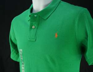 NWT Polo Ralph Lauren Boys Mesh shirts. SS M / L Green