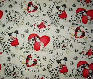 DOGGIE LOVE dalmation NURSE & VET SCRUB TOP