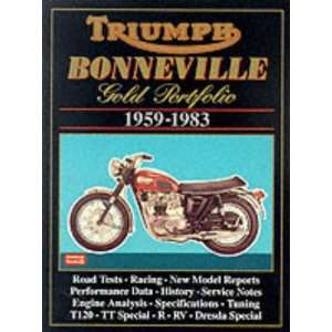 Triumph Bonneville Gold Portfoli 1959 83 (Road Test
