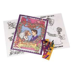 Activity Book   Ring Bearer or Flower Girl Coloring Book Toys & Games
