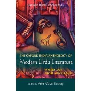The Oxford India Anthology of Modern Urdu Literature: Poetry