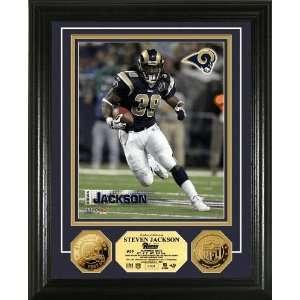 Steven Jackson 24KT Gold Coin Photo Mint  Sports