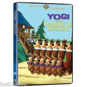 NEW dvd YOGI & INVASION OF SPACE BEARS Hanna Barbera WB