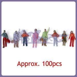 HO OO Scale People Passenger for Train Bus Station 100