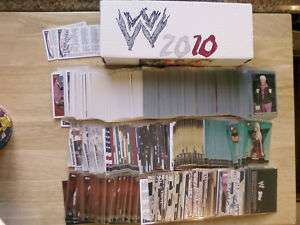 2010 Topps WWE Complete Master Set   All 469 Cards list
