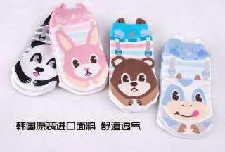 pairs Women Cute Cartoon casual cotton socks