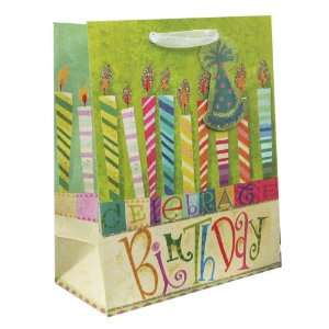 120 Pcs Premium Paper Gift Bags Bulk 10 x 8 x 4 (Birthday
