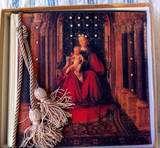 TERRA TRADITIONS PHOTO ALBUM VIRGIN MARY +BABY JESUS +SWAROVSKI
