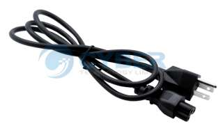 US 3 Prong Laptop Adapter Power Cord Cable Lead 3Pin