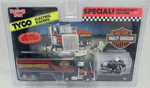 Tyco Harley Davidson Motorcycle & Tractor Trailer, New 043302090904
