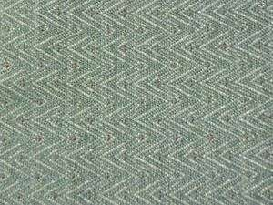 Aqua Blue Teal ZigZag RV Boat Indoor Outdoor Upholstery Fabric