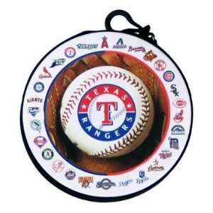 Texas Rangers MLB Team Logos CD / DVD Case Holder Electronics