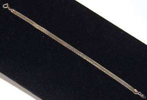 Vintage Trifari 10k Gold Plate Flexible Bracelet