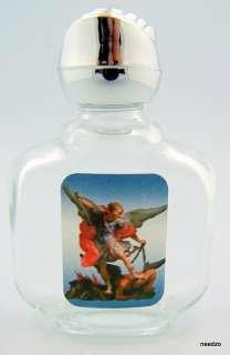 Saint St Michael Protection Holy Water Bottle Font