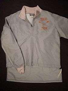 TEXAS LONGHORNS Authentic Crew Jacket (Mens Large)