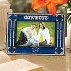 The Memory Company Dallas Cowboys Art Glass Horizontal Picture Frame