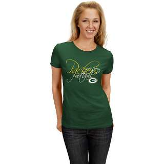 Green Bay Packers Womens Tops Green Bay Packers Womens Franchise Fit