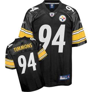 Reebok Pittsburgh Steelers Lawrence Timmons Replica Team Color Jersey