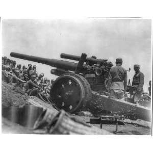 ,Officers training on Large field gun,IV 306,soldiers Home & Kitchen