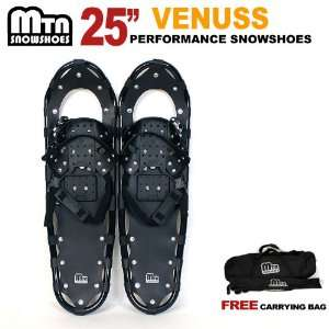 New 2012 MTN Man Woman Kid Youth 25 Snowshoes up to 200 lbs Free Bag
