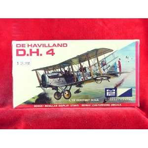 MPC De Havilland D.H. 4 1/72 Scale Model Kit #5003 50 M Toys & Games