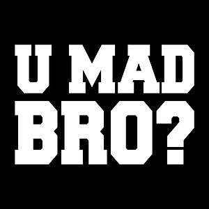 Mad Bro? Vinyl Sticker Decal Wall Art