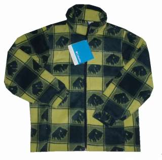 NEW~COLUMBIA~FLEECE~JACKET~CAMO~BUFFALO or FALCON~KIDS~BOYS~8, 10/12
