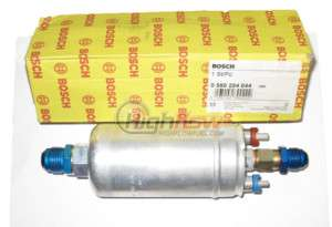 Bosch 044 300LPH External Fuel Pump  8AN  10AN Fittings
