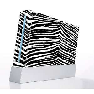 Black Zebra Skin Decorative Protector Skin Decal Sticker for Nintendo