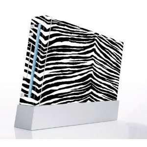 Black Zebra Skin Decorative Protector Skin Decal Sticker for Nintendo