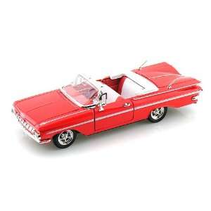 1959 Chevy Impala Convertible 1/32 Red: Toys & Games