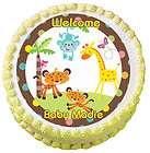 FISHER PRICE ABC JUNGLE SAFARI ANIMAL Edible Cake Image Topper Party