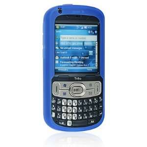 PALM TREO 800W Sprint BLUE Premium Silicone Skin Protective Cover Case