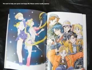 SAILOR MOON Art Book infinity Naoko Takeuchi Japan