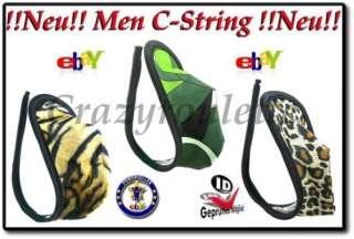 Herren Leo C String CString Tanga Borat Bikini Dessous