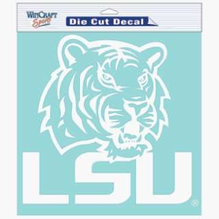 NCAA LSU Tigers 8 X 8 Die Cut Decal