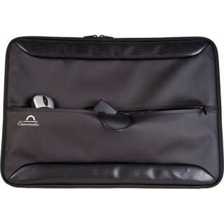 17 17.3 in Faux Leather Like Netbook Laptop Sleeve Case SL7 Front