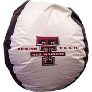 Bean Bag Texas Tech Red Raiders Furniture & Decor