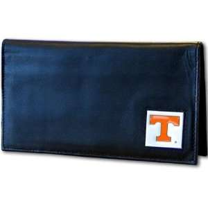 Tennessee Volunteers Deluxe Leather Checkbook Cover