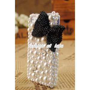 Bling Crystal Pearl iphone 4G 4S Clear Case/Cover/Skin