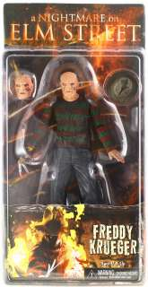 NIGHTMARE ON ELM STREET 2010 MOVIE NECA FREDDY KRUEGER 7 ACTION