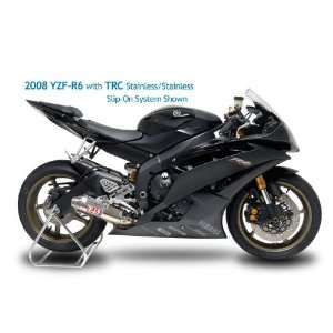 09 12 YAMAHA YZF R1 YOSHIMURA TRC SLIP ON EXHAUST   STAINLESS STEEL