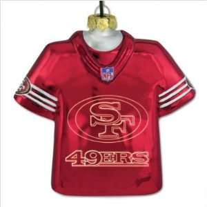 : San Francisco 49ers Laser Jersey With Team Logo: Sports & Outdoors