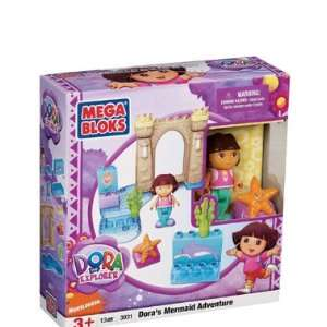 Dora the Explorer Mega Bloks Doras Mermaid Adventure 13pc