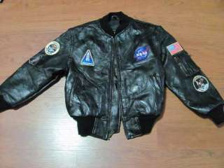 Vintage NASA Flight Jacket - Pics about space