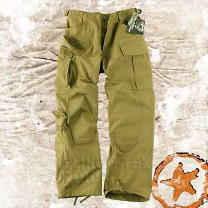 SPECIAL FORCES (SFU) ARMY COMBAT CARGO TROUSERS COYOTE