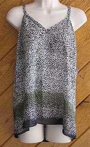 BANANA REPUBLIC Sleeveless Cotton Silk Cami Top XL