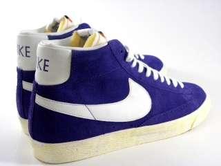 Nike Blazer High Vintage Purple/White Suede Retro Casual Walking Men