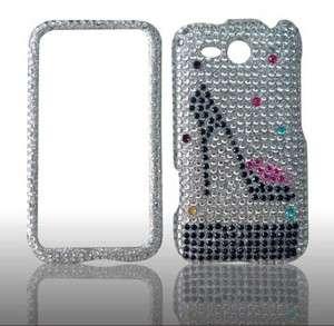 HTC Freestyle RhineStone Bling Case $12.99 USA A25