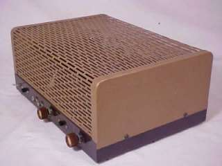 Vintage Lafayette KT 310 Mono Stereo Tube Amp